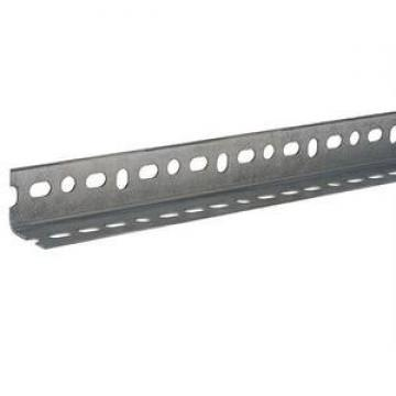 powder coated galvanized unequal and equal Steel slotted angle bar,slotted iron angle