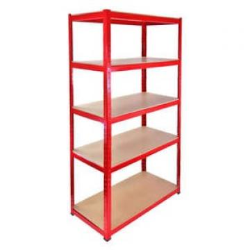 storage metal slotted angle shelf Galvanised Steel shelf Edge curl shelving