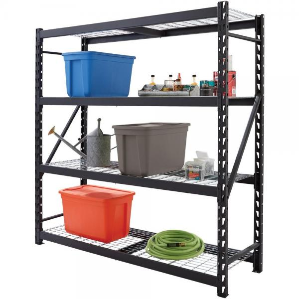 "6-Tier CE 48"" x 24"" x 70"" Chrome Wire Shelving Units #2 image"