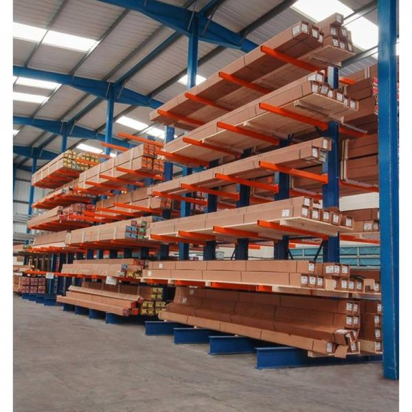 Warehouse customized large capacity stackable shelf maker mobile pallet mold storage rack system #3 image