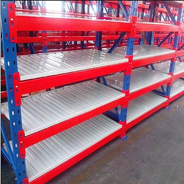 Warehouse customized large capacity stackable shelf maker mobile pallet mold storage rack system #1 image