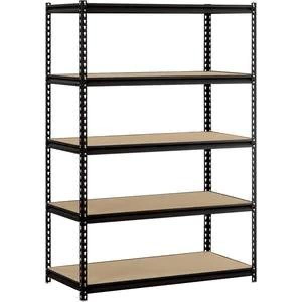 3-Tier Kitchen All Purpose Utility Cart with 2 Shelves Baskets for Extra Storage #3 image