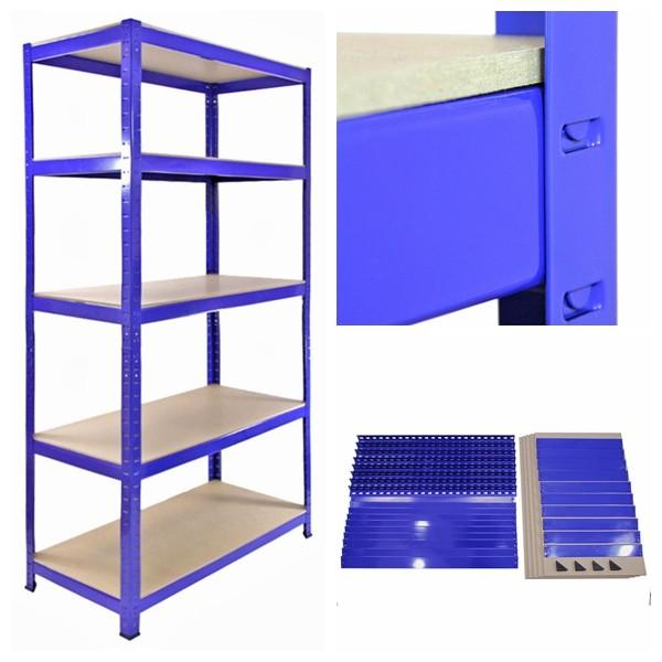 Warehouse Roll Formed Steel Structural 2 Ton Capacity Shelving And Pallet Rack #3 image