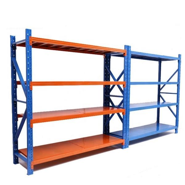 36X24 inch plastic shelf,5 Tier heavy duty plastic shelves,plastic shelving unit #2 image
